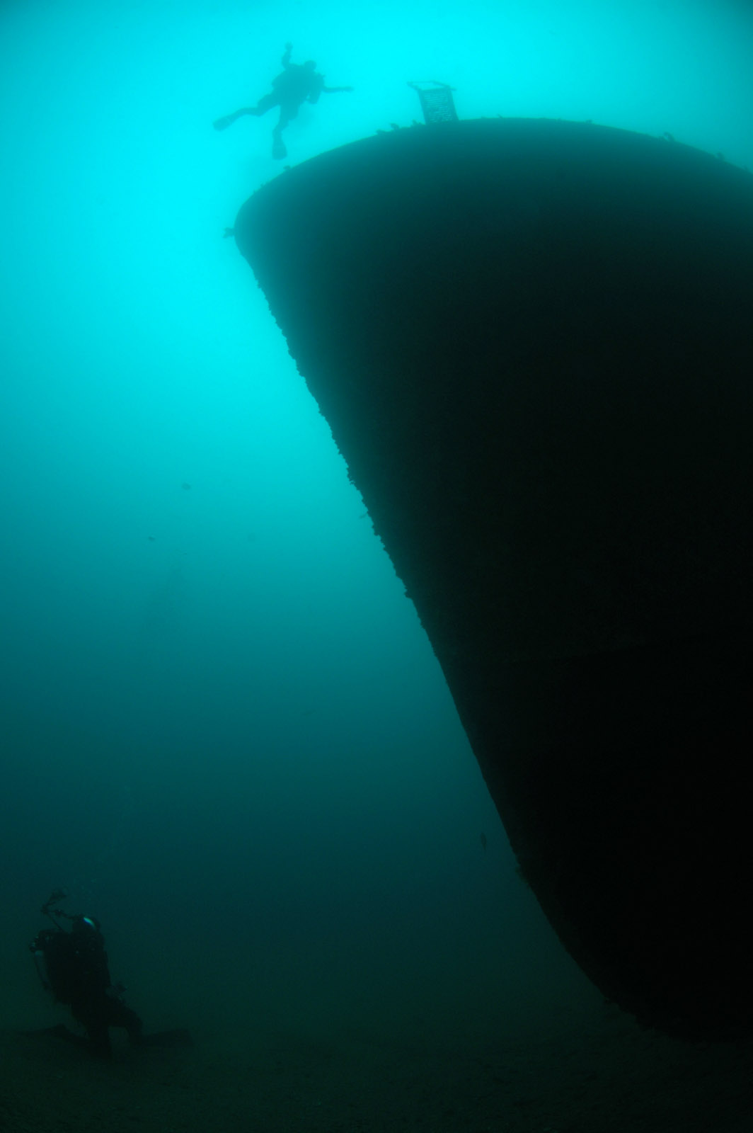Skip's Underwater Image Gallery > HMNZS Canterbury 2009